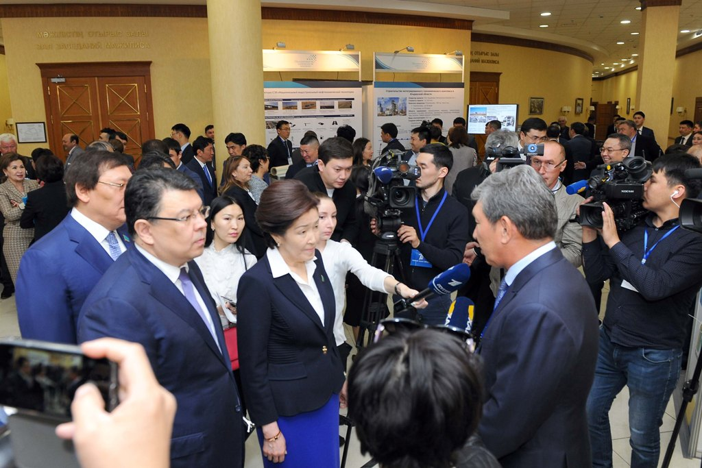 "Government Hour on the subject of ""Achievement of Oil and Gas Industry of Kazakhstan"""
