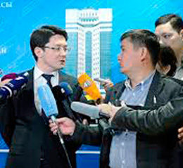 "Agreement on the joint work plan is signed between the administration of Zhambyl oblast and the NWF ""Samruk-Kazyna"""